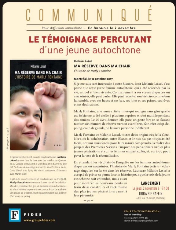 Marly Fontaine livre